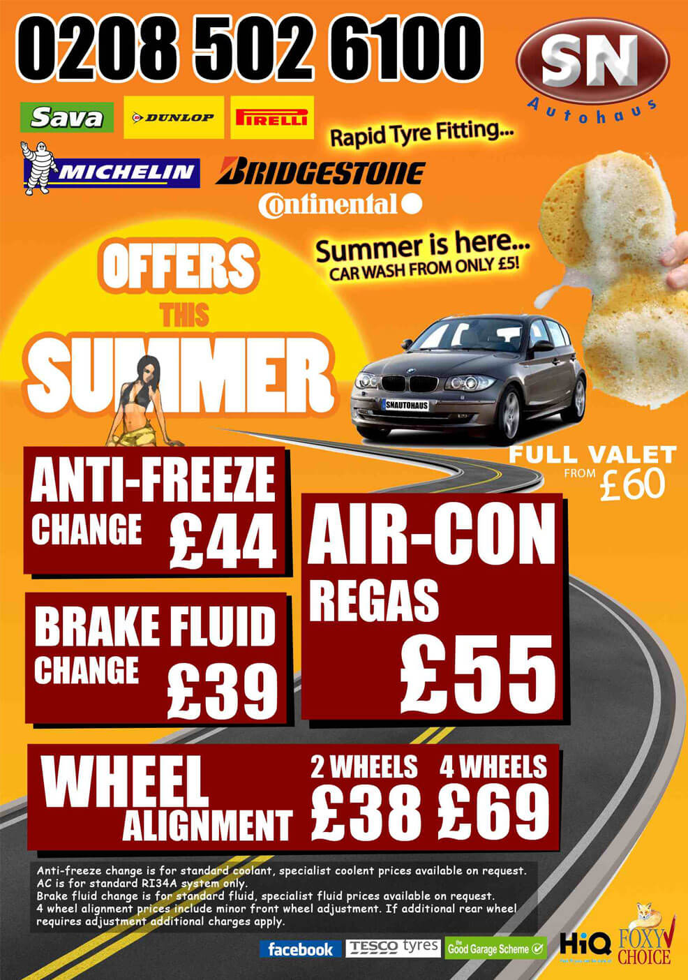 SN autohaus summer offers