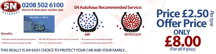 Recommended service (nitrogen)